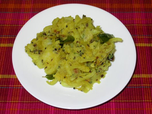 potato - dry curry