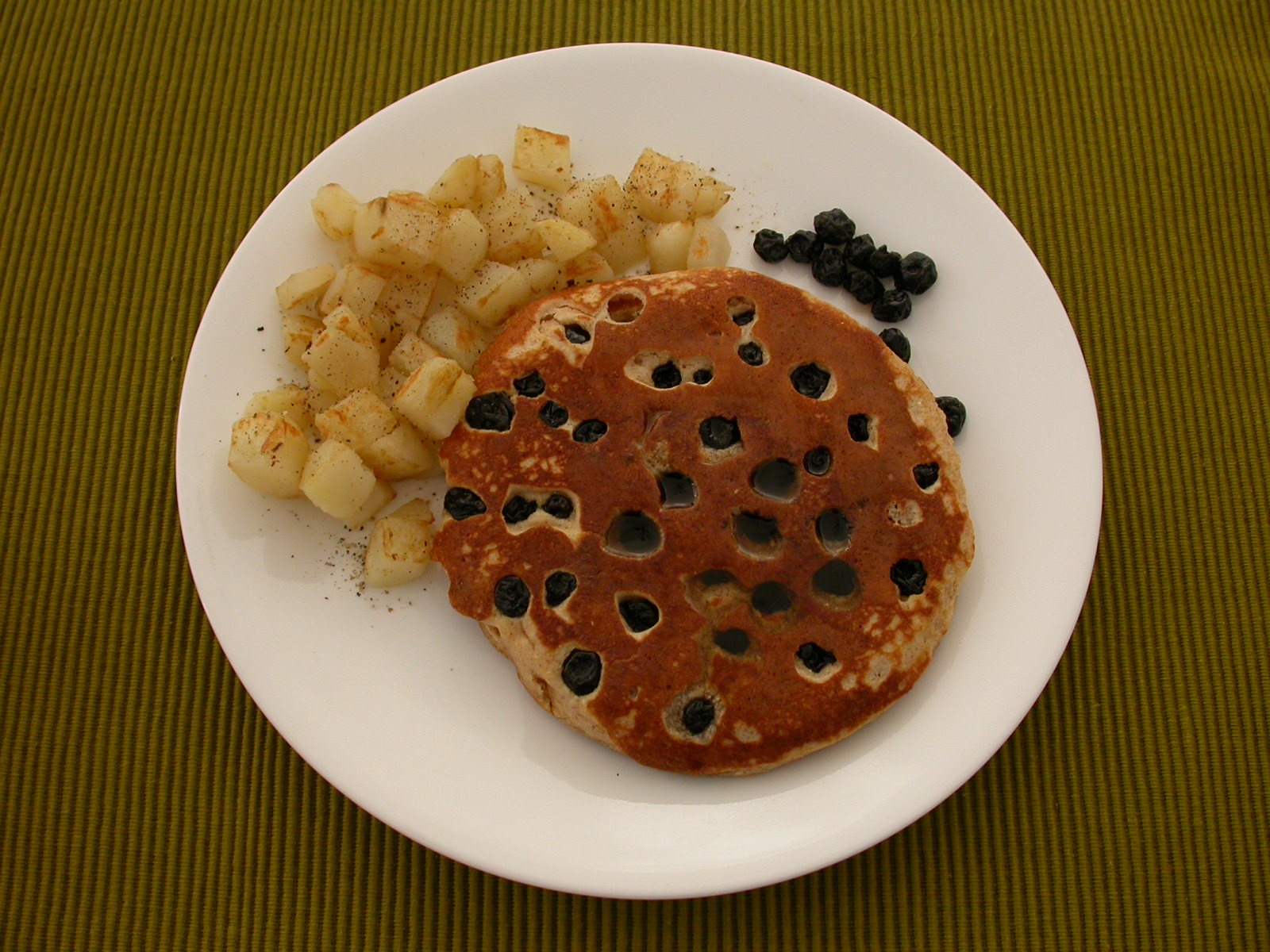 Pancake and hashbrown