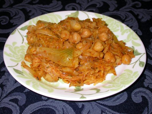 spiced cabbage