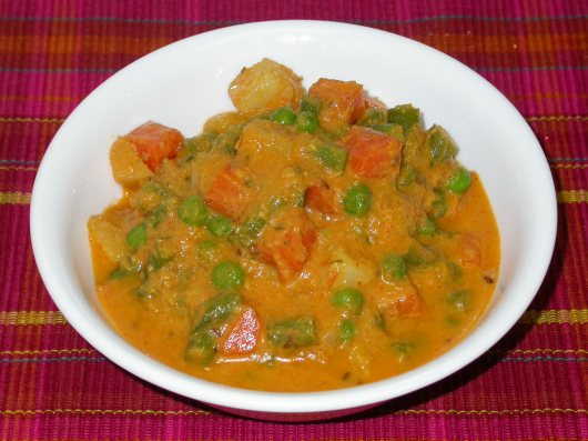 Kalvan - Veg Curry